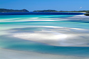 Joannes Framed Prints - Whitehaven Beach The Whitsundays Queensland Australia Framed Print by Thomas Joannes