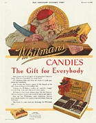 Candy Drawings - WhitmanÕs 1920s Usa Sweets Father by The Advertising Archives