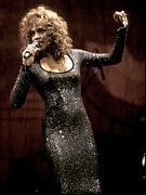 Fashion Pictures For Sale Posters - Whitney Houston Poster by Front Row  Photographs