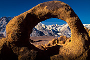 Alabama Hills Framed Prints - Whitney Portal Framed Print by Inge Johnsson