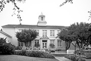 Hall Photo Prints - Whittier College Hoover Hall Print by University Icons