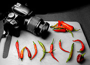 Chillies Prints - Why Indeed  Print by Rob Hawkins