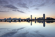 Boston Skyline Art - Why So Quiet Boston by Juergen Roth