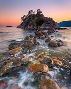 British Columbia Photo Prints - Whyte Islet Print by Alexis Birkill