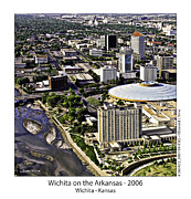 Fb Posters - Wichita on the Arkansas - 2006 Poster by Don Vine