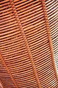Bamboo Fence Prints - Wicker #2 Print by Antoni Halim