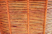 Bamboo Fence Prints - Wicker Print by Antoni Halim