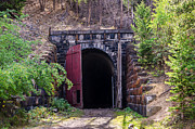 Tunnels Prints - Wickes or Boulder or Amazon Tunnel Print by Sue Smith