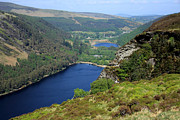 Aidan Moran Photographs Framed Prints - Wicklow Mountains  Framed Print by Aidan Moran