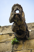 Church Art - Wide-Mouthed Gargoyle by Deborah Smolinske