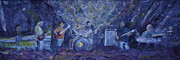 Widespread Panic Painted Live Two Print by David Sockrider