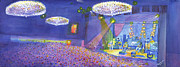 Widespread Panic Wood Tour At Fillmore Auditorium Denver Print by David Sockrider
