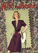 1940Õs Art - Wife And Home 1940s Uk Womens Magazines by The Advertising Archives