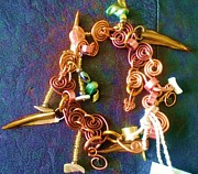 Art Jewelry - Wild art by Maria Mccullough