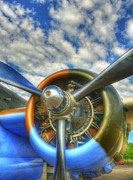 Airplanes Photos - Wild Blue Yonder 3 by Mel Steinhauer