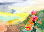 Wild Flowers Print by Anil Nene