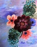 Wild Flowers Print by Janis  Tafoya