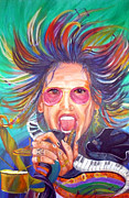 Rock And Roll Painting Originals - Wild Genius by To-Tam Gerwe