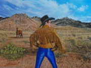 Arizona Artists Paintings - Wild Girls Of The West by James Welch
