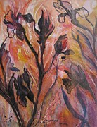 Cottonwood Paintings - Wild Irises by Jacqueline Pearson