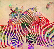 Animals Love Prints - Wild Life 3 Print by Mark Ashkenazi