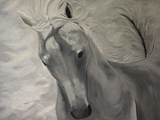 White Horse Pastels Originals - Wild by Lynette Brown