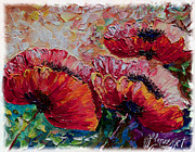 OLena Art - Wild Poppies