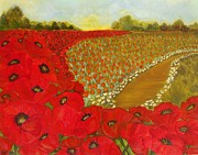 Yesi Casanova - Wild Red Poppies