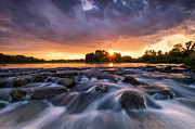 Gorgeous Photo Prints - Wild river II Print by Davorin Mance