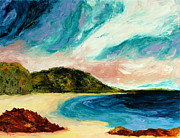 Jervis Painting Prints - Wild Sky Over The Bay Print by Scott Jackson