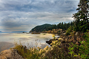 Seacape Metal Prints - Wildcat Cove Metal Print by Robert Bales