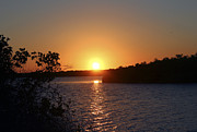 St. Lucie County Prints - Wildcat Cove Sunset2 Print by Megan Dirsa-DuBois