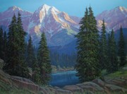 High Country Prints - Wilderness Light Print by Randy Follis