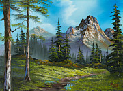 Ross Painting Originals - Wilderness Trail by C Steele