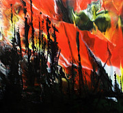 Wildfire Paintings - Wildfire 1 by Chad Rice