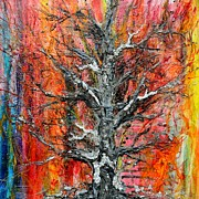 Wildfire Paintings - Wildfire by Regina Valluzzi