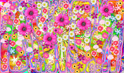 Wildflower Profusion Print by Sue Holman