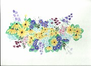 Saywood Samen - Wildflowers In Watercolor