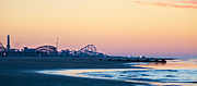 Wildwood Framed Prints - Wildwood Beach Panorama Framed Print by Bill Cannon