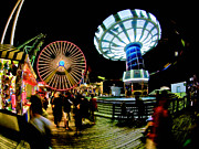 Amusements Metal Prints - Wildwood is a Happy Place Metal Print by Mark Miller