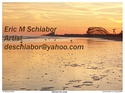 Wildwood Framed Prints - Wildwood Sunset Framed Print by Eric  Schiabor