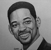 Will Drawings - Will Smith by Carlos Velasquez Art
