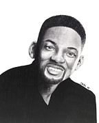 Will Drawings - Will Smith by Devin Millington