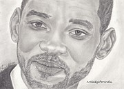 Will Drawings - Will Smith by Nathaniel Bostrom