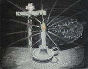 Will You Be The Light? Print by Shelia  Doebereiner