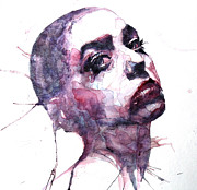 Face Prints - Will You Still Love Me Tomorrow  Print by Paul Lovering