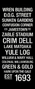 Williamsburg Posters - William and Mary College Town Wall Art Poster by Replay Photos