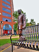 Pentecost Photos - William Joseph Seymour Statue by JFantasma Photography