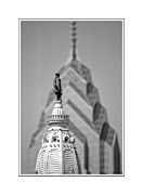Philadelphia City Hall Framed Prints - William Penn Philadelphia ver.1 Framed Print by Larry Mulvehill