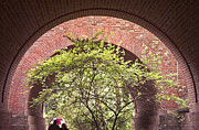 Williamsburg Prints - Williamsburg Arches Photo Print by Peter J Sucy